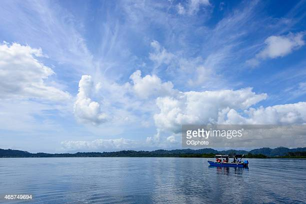 xxxl: tour boat taking vacationers site seeing - ogphoto stock photos and pictures