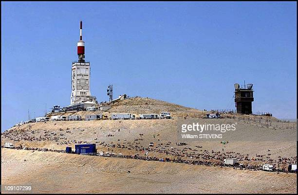 Tour De France 14Th Stage Lodeve / Mont Ventoux On July 21Th 2002 In Mont Ventoux France The Top Au The Mont Ventoux
