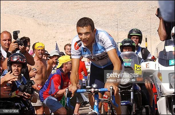 Tour De France 14Th Stage Lodeve / Mont Ventoux On July 21Th 2002 In Mont Ventoux France Richard Virenque