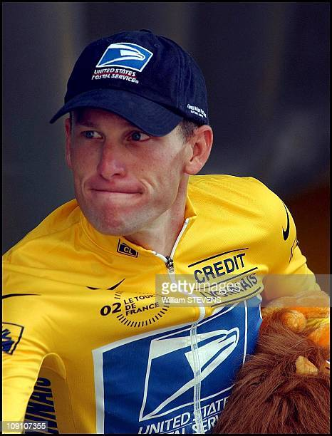 Tour De France 18Th Stage Cluzes/Bourg En Bresse On July 26Th 2002 In BourgEnBresse France Lance Armstrong