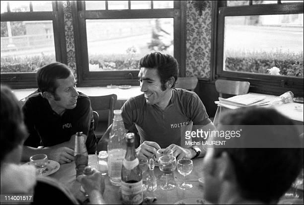 Tour de France 1974 Dieppe Caen In France On July 02 1974Eddy Merckx