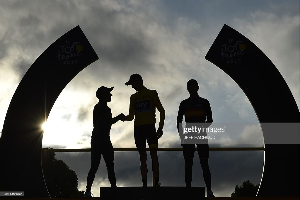 CYCLING-FRA-TDF2015-PODIUM : News Photo