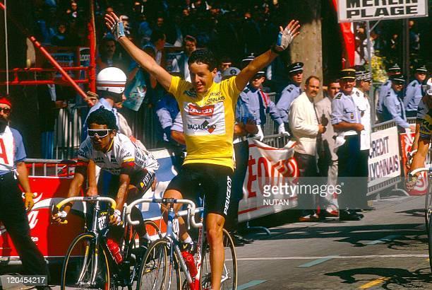 Tour de France France in 1987 Irishcyclist Stephen Roche