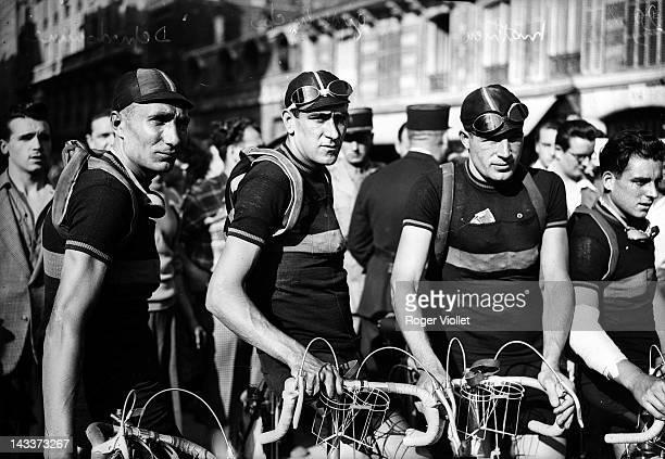 Depredomme Gysselinck and Mathieu Belgian racing cyclist