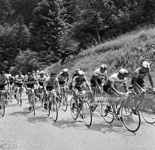 Tour de France From the left to the right Tom Simpson Jo de Roo Jacques Anquetil Julio Jimenez and Raymond Poulidor