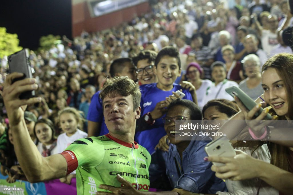 COLOMBIA-CYCLING-TRACK-MEDELLIN : ニュース写真