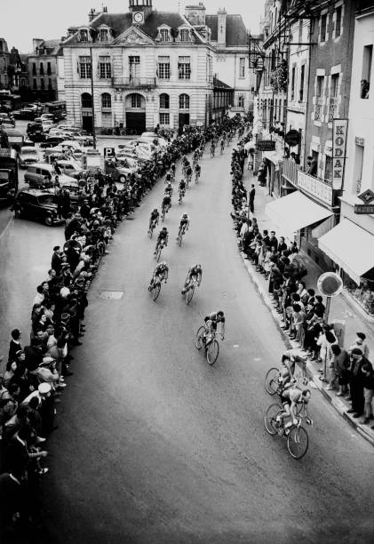 Tour De France On July 1958.