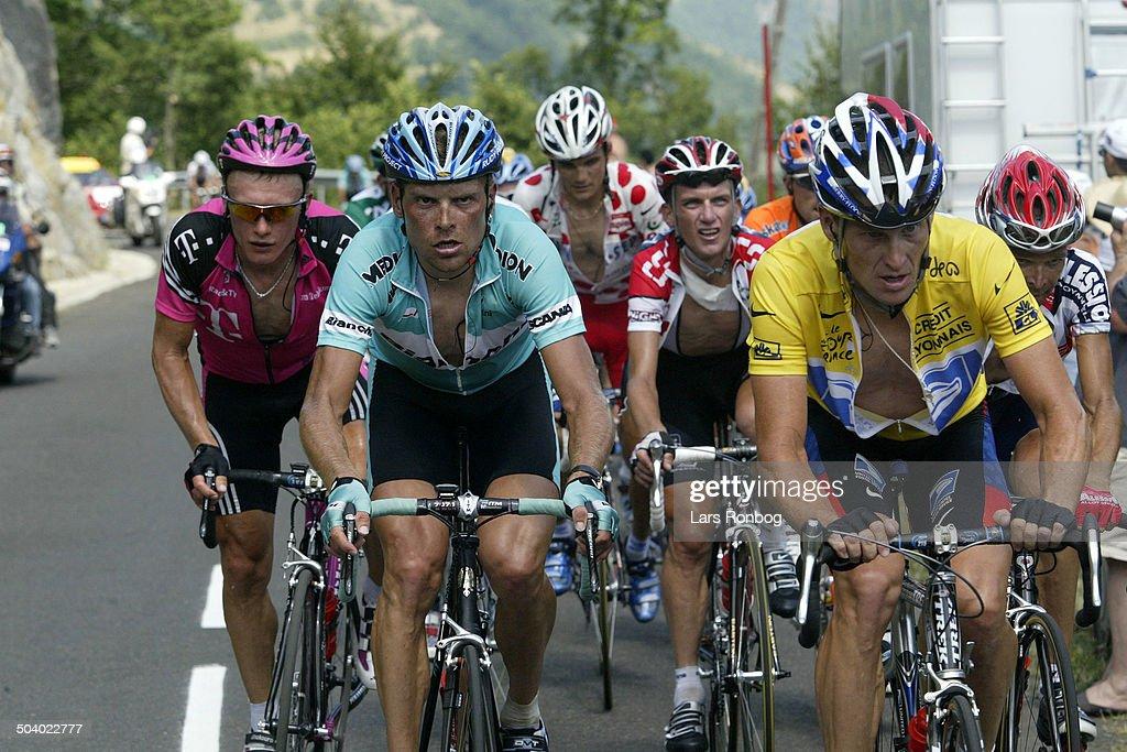 Tour de France, stage 13 - Toulouse - Ax-3 Domaines : News Photo