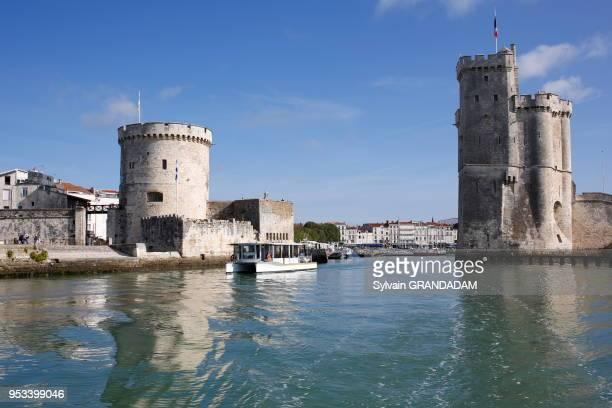 Tour de la Chaine sur le port de la Rochelle.