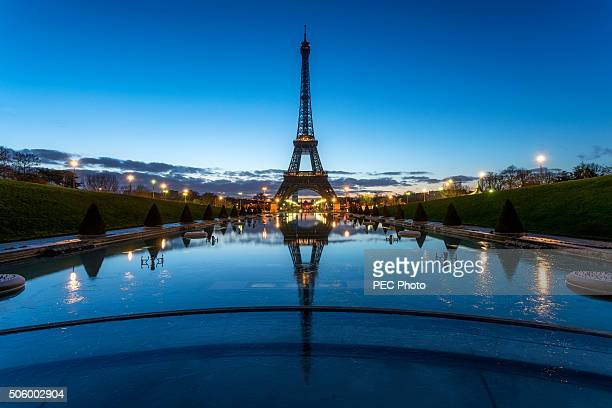 Tour Eiffel during the blue hour