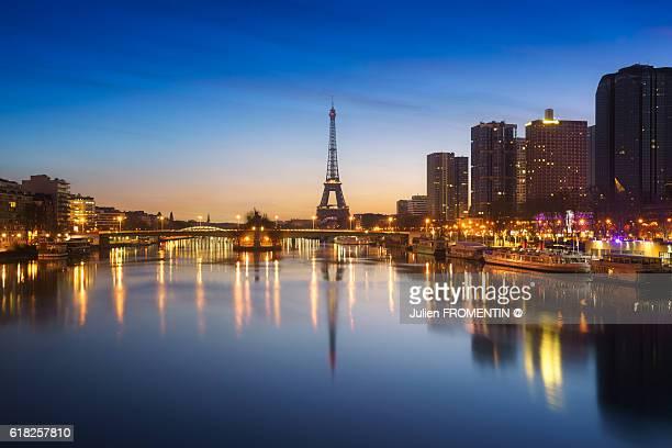 Tour Eiffel & Port de Grenelle, Paris