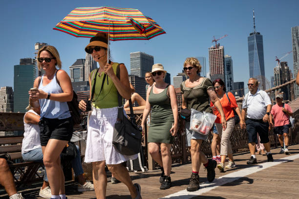NY: New York City Drawing Record Number Of Tourists