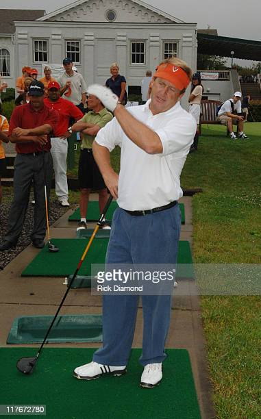 Tour Legend Fred Funk during Entertainment Golf Association's 4th Annual Celebrity Golf Tournament Presented by Vonage at Minisceongo Golf Club in...