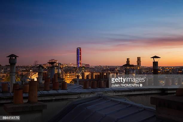 Tour Montparnasse & Eglise Saint-Sulpice, Paris