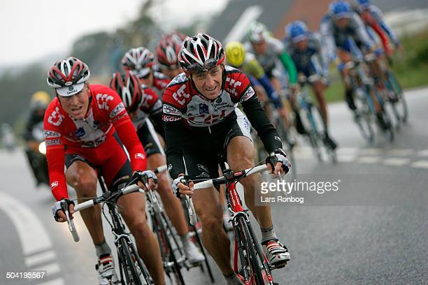 Tour of Denmark stage 1 Team CSC leading KurtAsle Arvesen Lars Bak