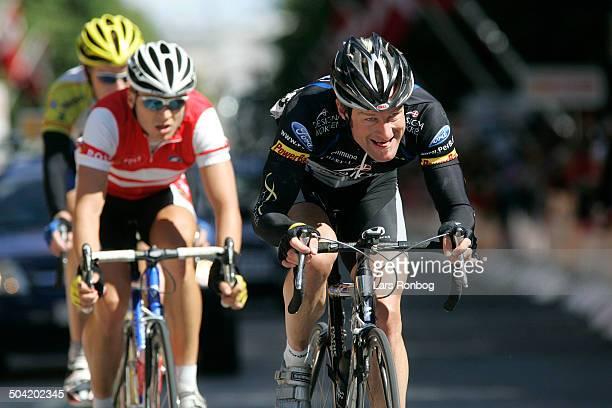 Tour of Denmark stage 6 Allan Bo Andresen Team Designa Koekken Martin Mortensen Team Post Danmark Roy Hegreberg Glud Marstrand Horsens