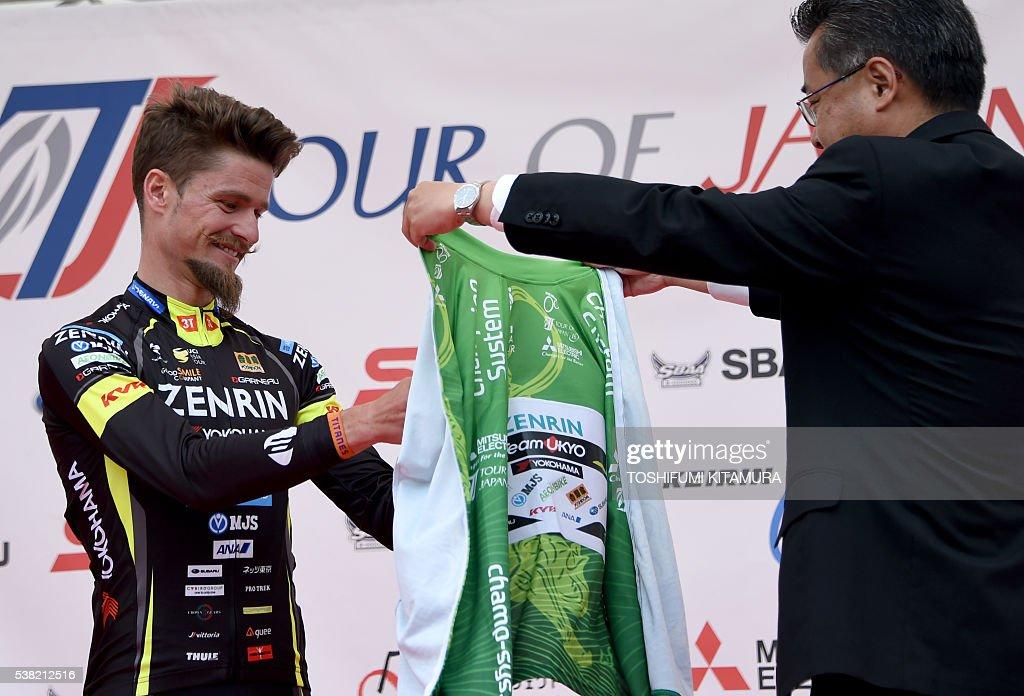 Bildergebnis für winner jersey tour du  japon