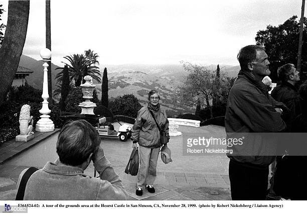 Tour of the grounds area at the Hearst Castle in San Simeon, CA, November 28, 1999.