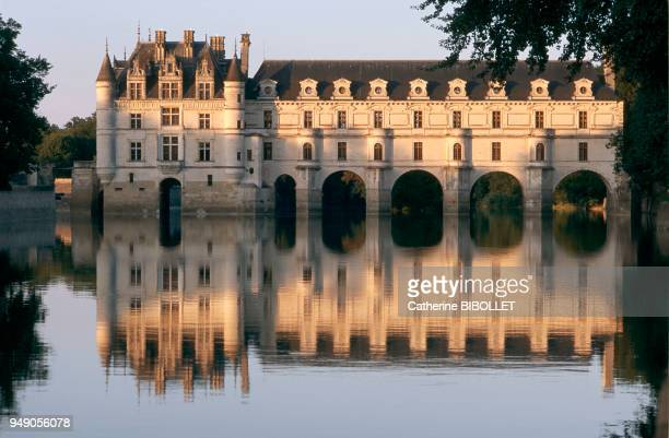 Chenonceaux Castle on the Cher Completely destroyed in 1411 except for the dungeon it was replaced in 1513 by a simple residence on water which...
