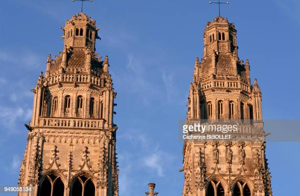 Tours the cathedral of Saint Gatien and its two twin towers Built between the XIIIth and XVIth century it stands on the foundation of older edifices...
