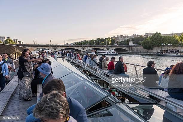 Tourboat in Paris