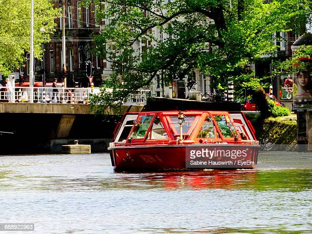 tourboat on water - sabine hauswirth stock pictures, royalty-free photos & images