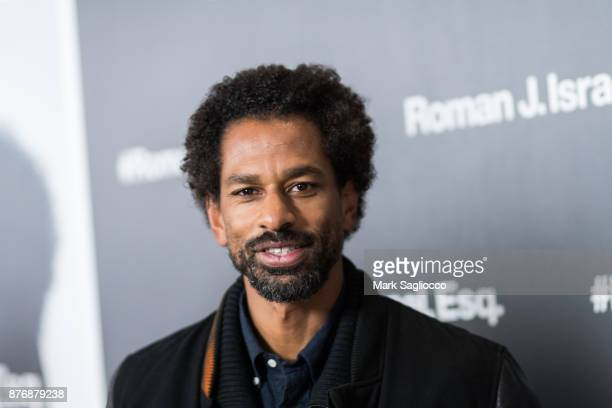 Toure attends the Roman J Israel Esquire New York Premiere at Henry R Luce Auditorium at Brookfield Place on November 20 2017 in New York City