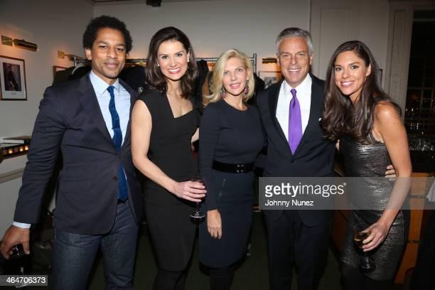 Toure, Krystal Ball, Mary Kaye Huntsman, Jon Huntsman, Jr. And Abby Huntsman attend at Carnegie Hall on January 23, 2014 in New York City.