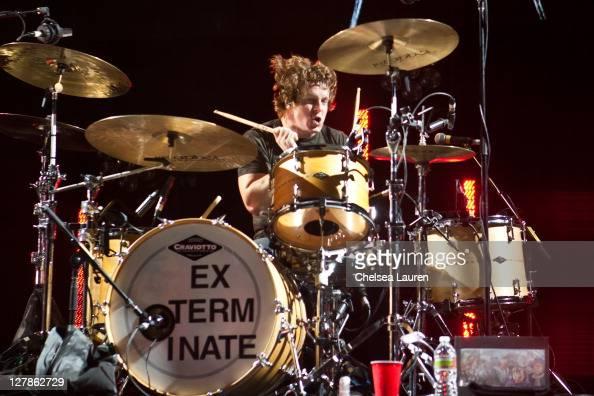 Touring drummer Jarrod Alexand...