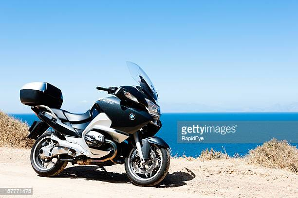 bmw r1200rt touring motorcycle - bmw stock pictures, royalty-free photos & images