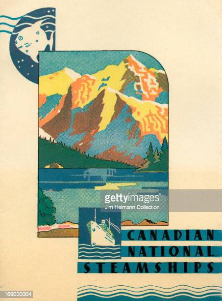 A tourism brochure for Canada by Canadian National Steamships from 1938 in Canada