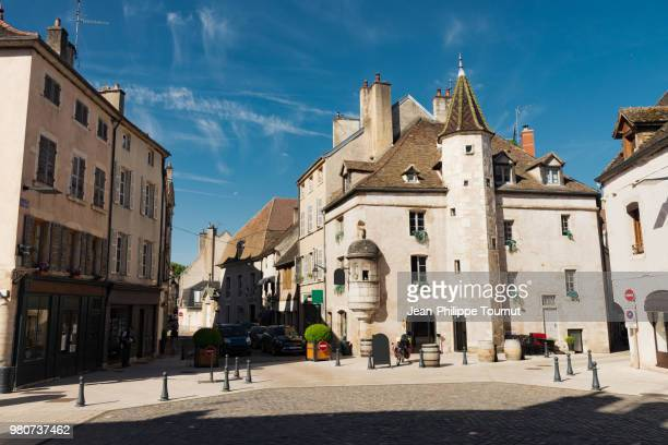 Tourism in Beaune, Burgundy, Bourgogne, France