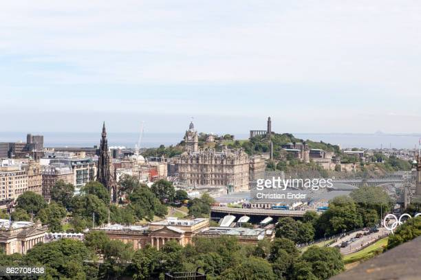 Tourism in Edinburgh during the Fringe Festival, Scotland