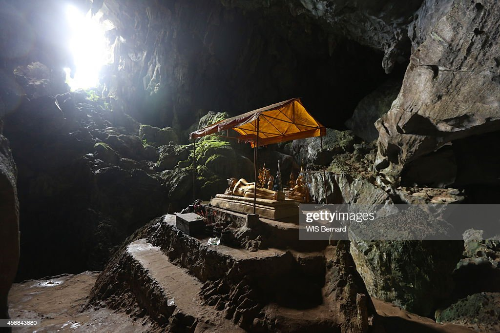 Tourism in Laos The City of  Vang Vieng : News Photo
