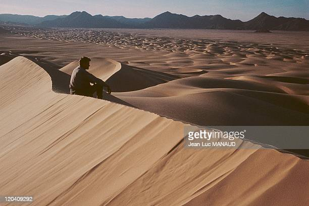 Tourism in the Dunes of Arakao eastern border of the Air in Niger