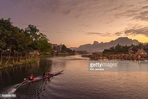 Tourism in Vang Vieng, Laos