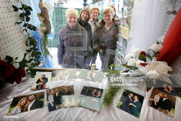Tourist are looking for Postcards as Luxembourg prepares for its Royal Wedding on October 12 2012 in Luxembourg Guillaume Hereditary Grand Duke of...