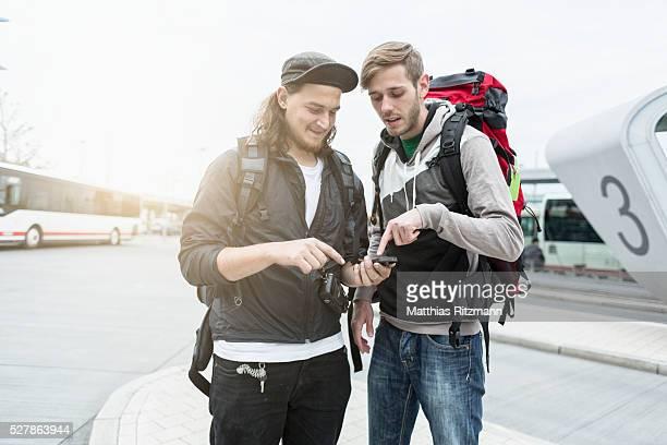 Tourist asking way