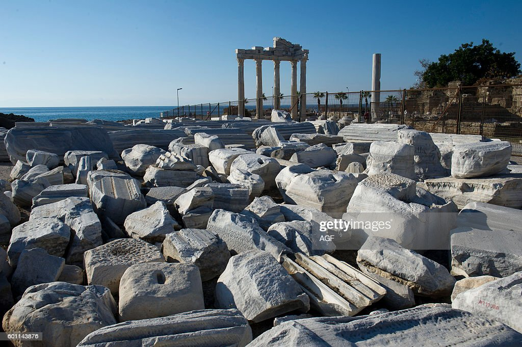 Temple Of Apollo Antalya Province Stock Photos and Pictures Getty