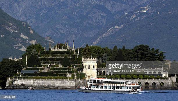 A tourist boat arrives in Stresa Italy 12 September 2003 where an informal meeting of European Union economy and finance ministers takes place1213...