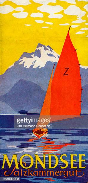 A tourist brochure for Mondsee in Salzkammergut from 1929 in Austria