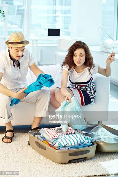 tourist clothing - open blouse stock photos and pictures