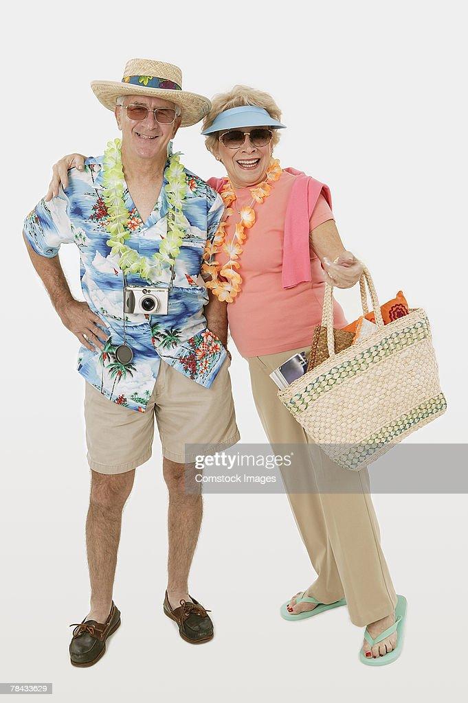 Tourist couple : Stockfoto