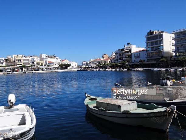 Tourist destination on Crete Agios Nikolaos