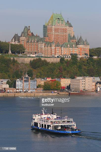 tourist destination - river st lawrence stock pictures, royalty-free photos & images