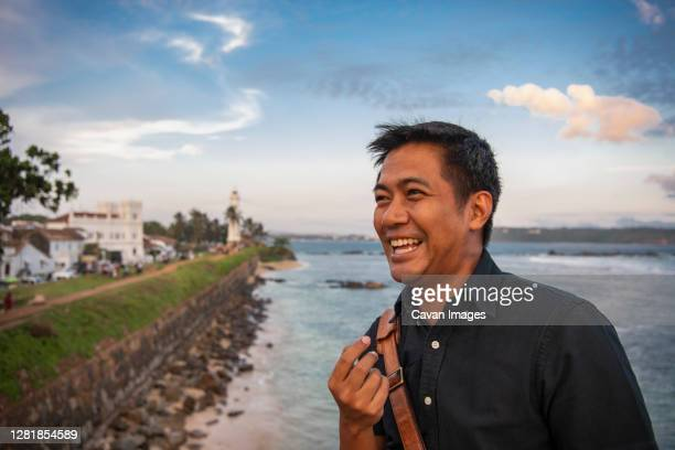 tourist exploring the sites in galle / sri lanka - sri lanka stock pictures, royalty-free photos & images