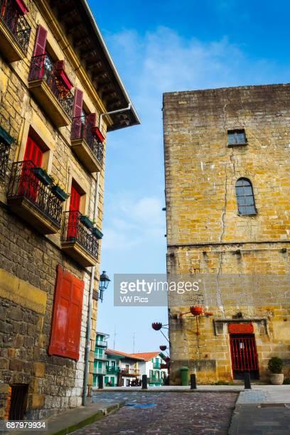 Tourist Hotel . Hondarribia. Guipuzkoa, Basque Country, Spain, Europe.