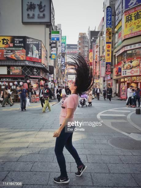 tourist in akihabara, tokyo - prefeitura de tóquio imagens e fotografias de stock
