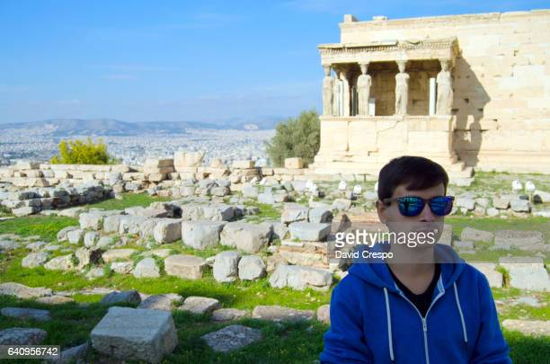 Tourist in Athens