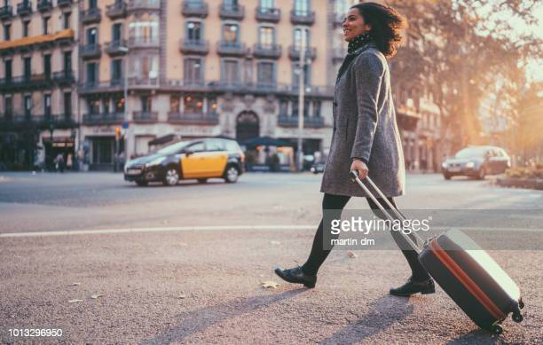 tourist in barcelona - explorer stock pictures, royalty-free photos & images